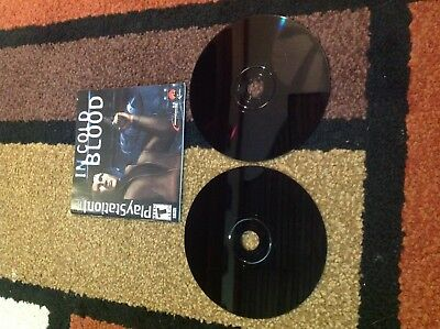 In Cold Blood PlayStation 1 PS1 PS2 PS3  Complete - RARE!