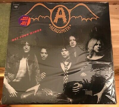 Aerosmith - Get Your Wings / SEALED! Cat-WPC 32847 Nice Price sticker /early 80s