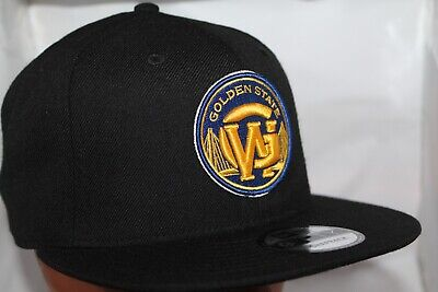 f7f83640b972 Golden State Warriors New Era NBA Combo Logos 9Fifty,Snapback,Hat,Cap NEW