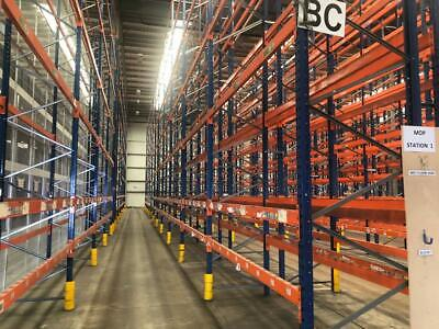 PLANNED STORAGE P85 HEAVY DUTY PALLET RACKING FRAMES BEAMS (Chelmsford Branch)