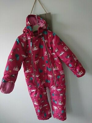 Joules girl snowsuit 2-3 years great condition
