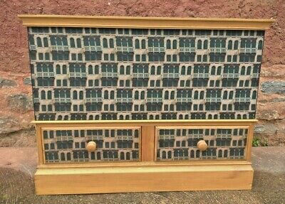Upcycled Pine Storage Chest With Two  Drawers - Pine Trunk ( Free Delivery 👍 )