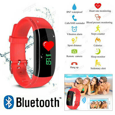 Fitness Smart Watch Activity Tracker Women Men Kid for Android iOS Heart Rate UK