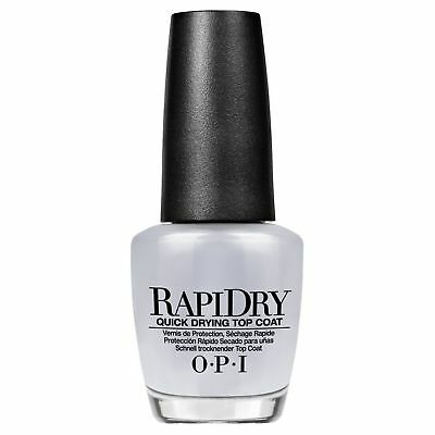 opi vernis à ongles rapidry quick drying top coat 3.75ml