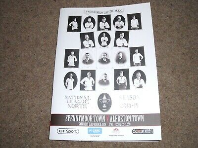 2018/19 Spennymoor Town V Alfreton Town National League North 23Rd March 2019