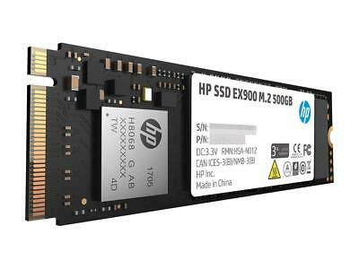 NEW HP EX900 SSD 500GB NVMe 3D TLC NAND 2280 M.2 PCIe 3.0 x4 Solid State Drive