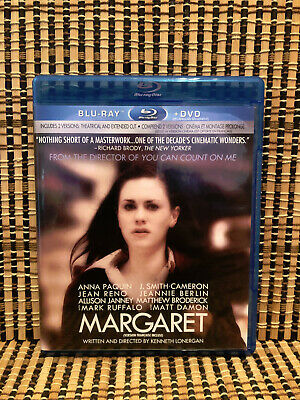 Margaret: Extended Cut (2-Disc Blu-ray/DVD, 2012)OOP.Dir<Manchester By The Sea
