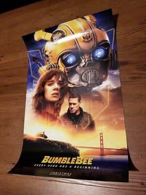 Bumblebee Theatrical Release 11x17 Movie Promo Poster (2018)