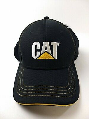 248baca8 CAT Caterpillar Equipment Hat Work Wear Construction New (Other) Logo Black  Cap