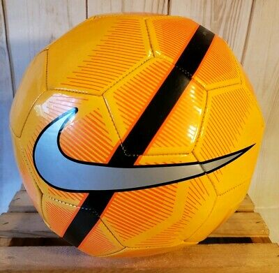 6905eef8b Nike Mercurial Fade Orange Volt Size 5 Soccer Ball for Training