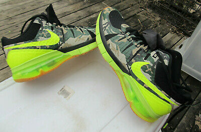 70ec0dc1f6 Men's Nike Air Max TR180 AMP 723973-072 Camouflage Neon US sIZE 11 Shoes