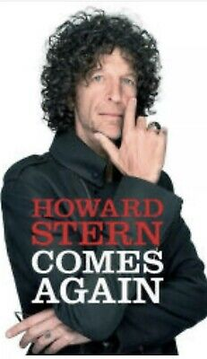 Howard Stern Comes Again by Howard Stern Hardcover 2019 (Pre Order May 14th)