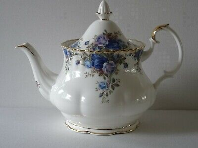 Royal Albert Moonlight Rose Large Teapot Bone China England