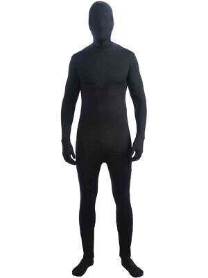 CL103 Floating Ghost Disappearing Man Body Suit Zentai Bucks Halloween Costume