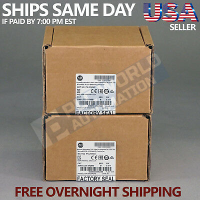 2019 New Factory Seal Allen Bradley 2080-LC20-20QBB /B Micro820 Free NextDay Air