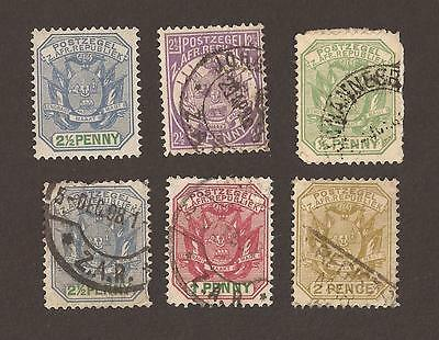Transvaal. Small old selection of stamps. What you see is what you get !