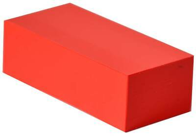 "HDPE Plastic Bar Stock - 2"" x 6"" x 12"" for Machining (Choose from 6 Colors!)"