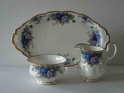 Royal Albert Moonlight Rose Milk and Sugar set Bone China England