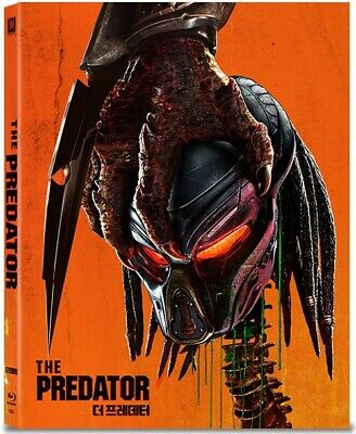 The Predator ( Blu-ray ) STEELBOOK / Full Slip Limited Edition / Region ALL