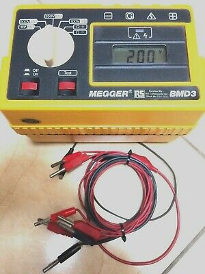 Megger Bmd3 Portable Electrical Insulation Continuity Tester Up To 440V