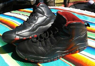 23f47fdfa11373 2011 NIKE AIR JORDAN 10 X RETRO CHICAGO SIZE 11.5 Painted Uppers 310805-100