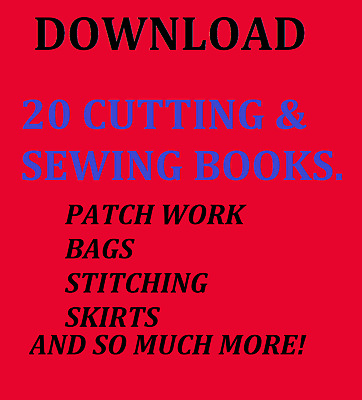 20 Sewing And Cutting Books Download