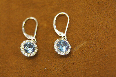 Kiera Couture Sterling Silver Earring Cz Dangle Earrings