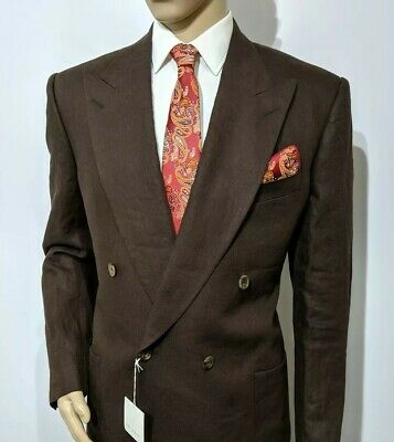 New Chester Barrie Savile Row Luxury Mens Blazer Double Breasted UK 48R RRP £750