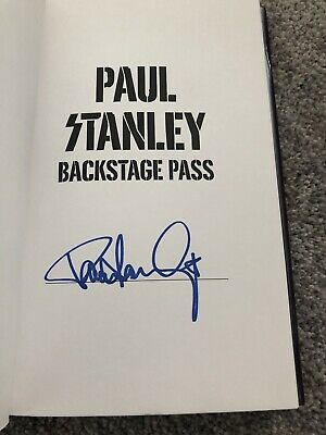 Backstage Pass by Paul Stanley (2019,HC,1st/1st) SIGNED BRAND NEW