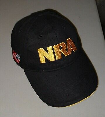 cheap for discount 4e47d fc411 NRA National Rifle Association Hat Baseball Cap Hunter Hunting Shooting USA  Flag