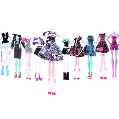 Doll Girl Dress Set Outfit Clothing Handmade For Monster High Doll Low Price