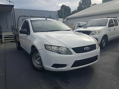 2010 Ford Falcon FG Cab Chassis 2dr Spts Auto 6sp 4.0i (Flr - Euro IV) White A