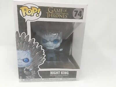 Funko Pop Game of Thrones  Night King on Throne HBO