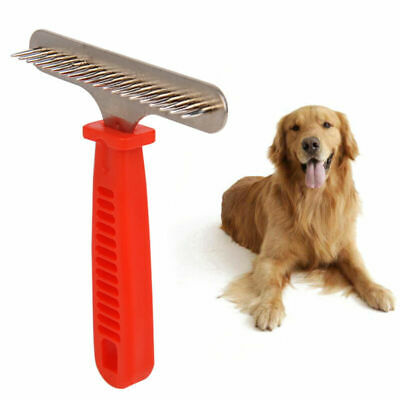 1PC Dematting Comb Pet Supplies Pet Comb Grooming Brush for Removing Matted Hair