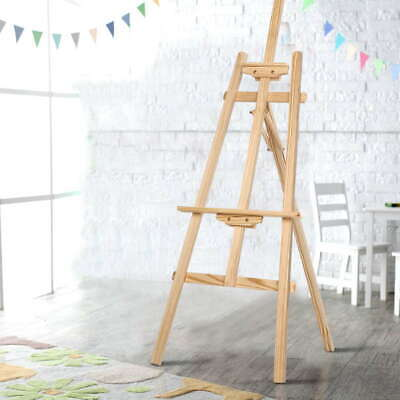 A Frame Wooden Easel Signs Cafe Home Wedding Decor Menu Display Artist Stand
