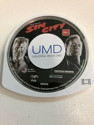 Sin City Sony Playstation PSP UMD Movie Video