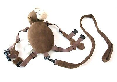 Eddie Bauer Plush Childrens Monkey Animal Harness Buddy Safety Leash Backpack