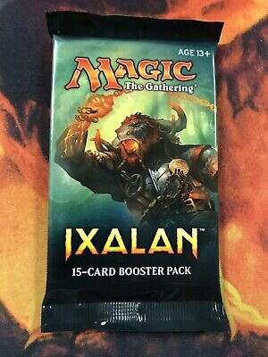 1x Magic the Gathering MTG Ixalan New Factory Sealed Booster Pack