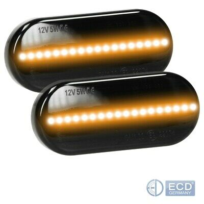 LED Seitenblinker Blinker Smoke 2 Stück VW Golf 4 Passat Polo Sharan Vento Lupo