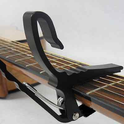 Quick Change Grain Clamp Key Capo Spring for Acoustic Electric Guitar Bass