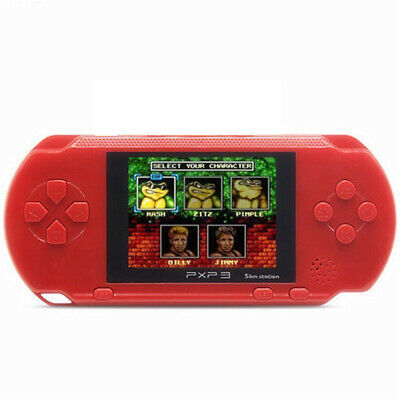 PXP3 Game Console Handheld Portable 16Bit Retro Video LCD 85 Games Rechargeable