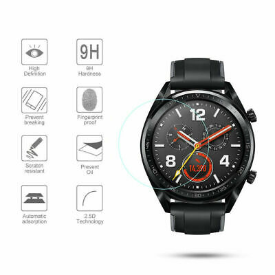 Round Smart Watch 9H Tempered Glass Screen Protector Film for Huawei Watch 2 Pro