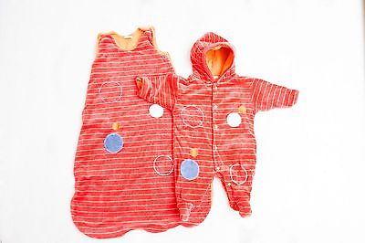 Pitter Patter sleep bag and snowsuit