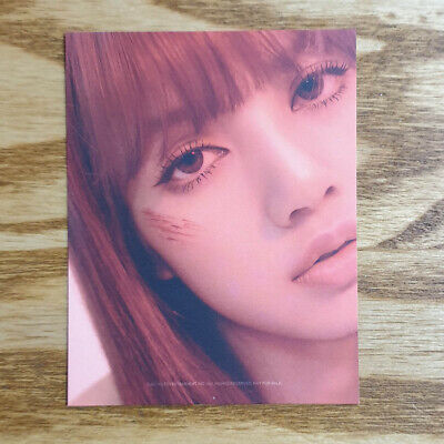 Lisa Official Photocard BlackPink 2nd Mini Album Kill This Love Genuine Kpop