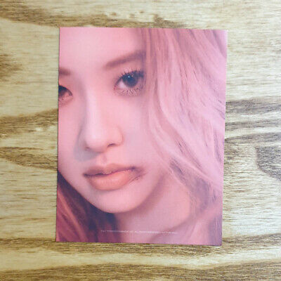Rose Official Photocard BlackPink 2nd Mini Album Kill This Love Genuine Kpop