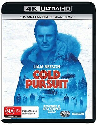 Cold Pursuit 4K Ultra HD Blu-ray UHD Region B NEW // PRE-ORDER for 29/05/2019