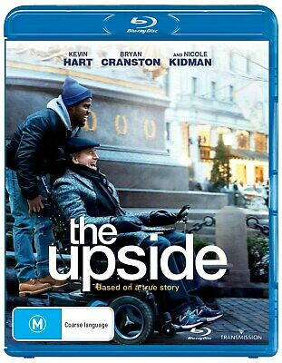 The Upside Blu-ray Region B NEW // PRE-ORDER for 29/05/2019
