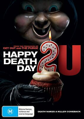 Happy Death Day 2u DVD Region 4 NEW // PRE-ORDER for 29/05/2019
