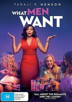 What Men Want DVD Region 4 NEW // PRE-ORDER for 29/05/2019