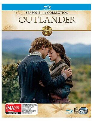 Outlander Seasons 1-4 Box Set Blu-ray Region B NEW // PRE-ORDER for 29/05/2019
